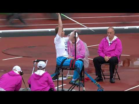 Silver Women's Javelin F34 | Final | London 2017 World Para Athletics Championships