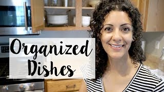 Organized Dishes: Family of 4's Plates, Cups, Bowls, & Mugs!