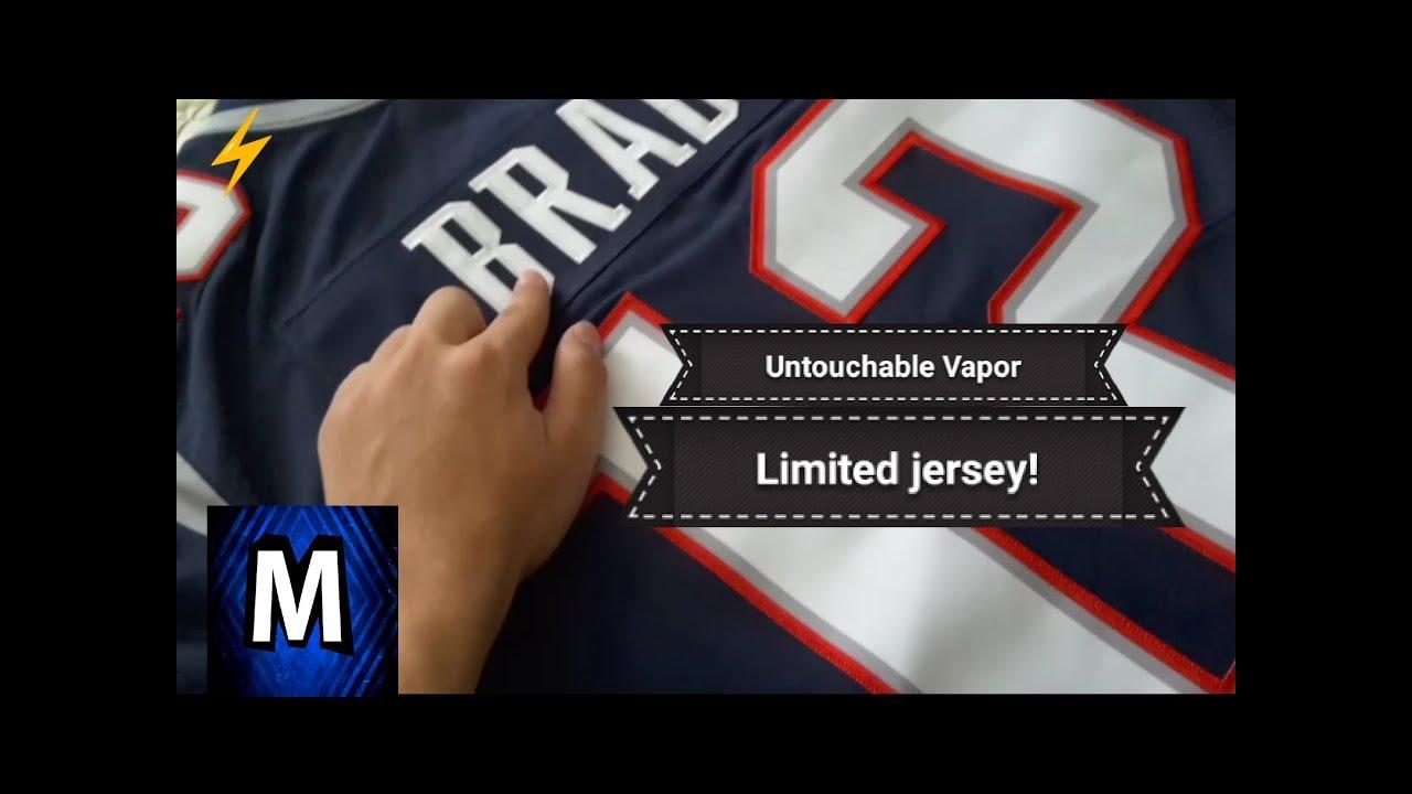new concept 6e905 0452a Patriots Untouchable Vapor Limited Jersey *Review!*