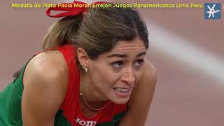 Paola Moran Errejon Medalla de Plata Panamericanos Lima Perú