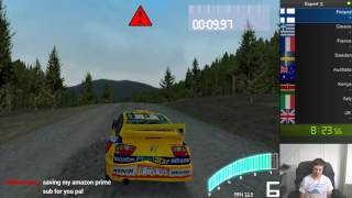 Colin McRae Rally 2.0 Expert % Speedrun in [3:36:31] (Former WR)