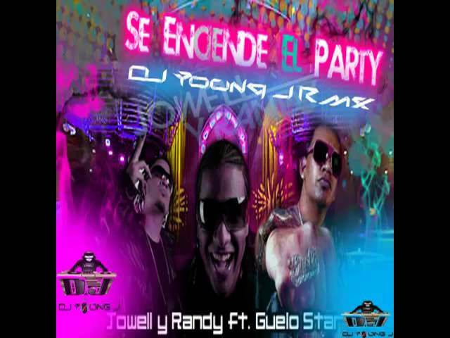 se encendio el party jowell y randy