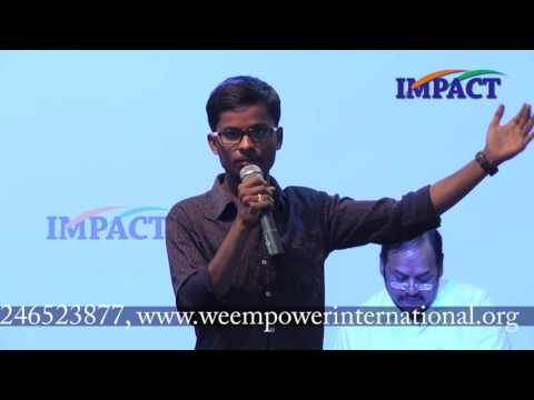 Speeches by Young Trainers of We Foundation-Hyderabad