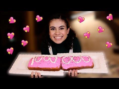 Baking a cake for 1 million ♥♥