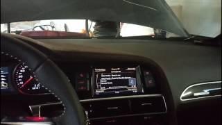 Работа руля Audi TT 2015 на Audi A6 C6 2005
