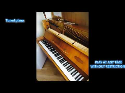Musician apartment with a piano, sauna in Rhone-Alpes, France