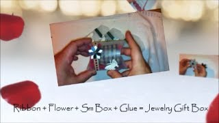 Day 4 How To Decorate A Small Gift Box For Jewelry