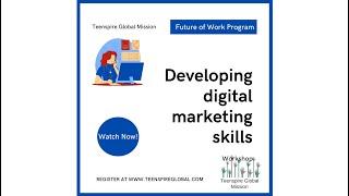 Future of Work: Developing Social Media Marketing Skills