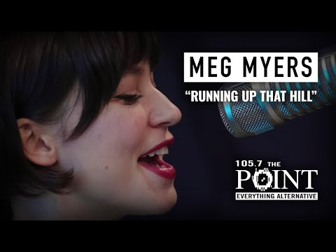Meg Myers - Running Up That Hill (LIVE) acoustic performance on 105.7 The Point