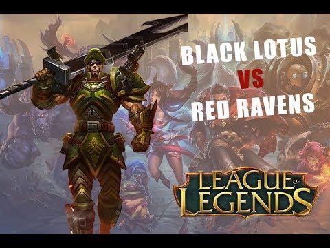 Africa Game Show - LoL - Black Lotus VS Red Ravens Part 2
