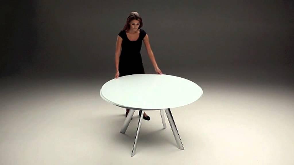 Bontempi kerek asztal Konyhalux Video - YouTube
