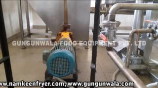 Fully Automatic Namkeen Making Machine with Wooden Boiler By GUNGUNWALA