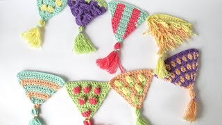 Just a quick tutorial to show you how to join your bunting triangles from my recent crochet-a-long. If you'd like to know more about bunting and what it is used for, ...