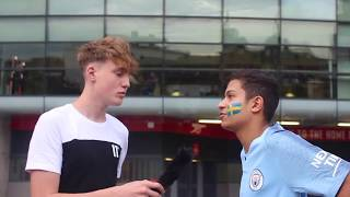 """""""Liverpool Are Our ONLY Competition"""" (Man City Fan) 