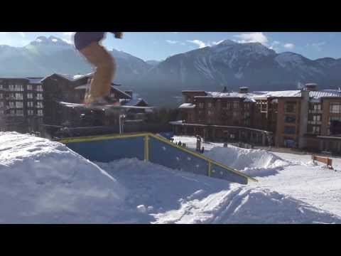 Revelstoke Mountain Resort Rail Park - January 22nd, 2014