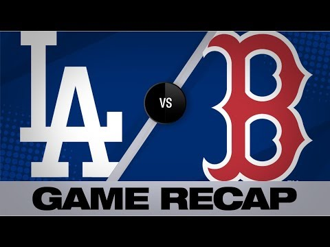 bogaerts,-devers-lead-red-sox-to-an-8-1-win-|-dodgers-red-sox-game-highlights-6/12/19