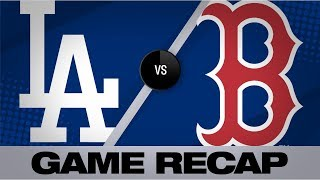 Bogaerts, Devers lead Red Sox to an 8-1 win | Dodgers-Red Sox Game Highlights 6/12/19