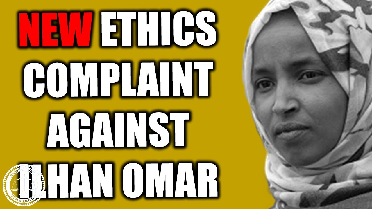 Image result for Judicial Watch Files NEW Ethics Complaint against Ilhan Omar! – Tom Fitton