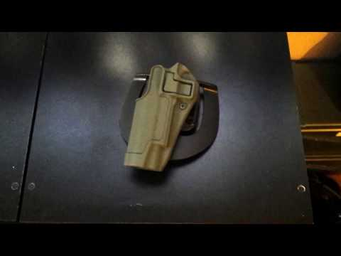 Blackhawk Serpa CQC 1911 Level 2 Holster OD Spray Painted Review