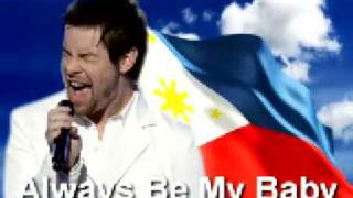 "Always be My Baby PINOY VERSION ""Ikaw Lang ang Iibigin"" - Lamberto ""Lambert"" Reyes ASAP 09"