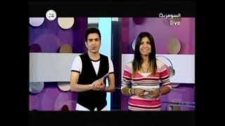 Walid Awad at Al Sumaria Iraq TV وليد عوض - حدّك خلّيني   [ Top 10 ]