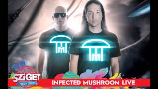 Infected Mushroom - Intro + Sabotage @Live from Sziget Festival 2015 [HQ Audio]