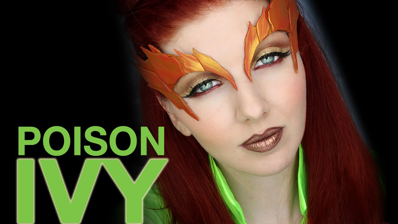 poison ivy hair style transforming into poison makeup amp hair tutorial 2354 | maxresdefault