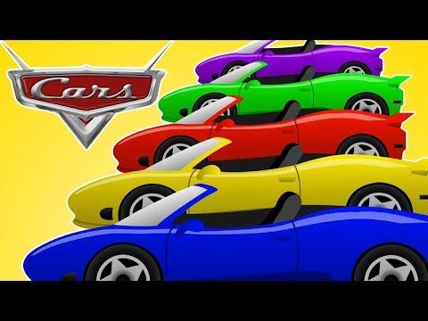 Sports car Finger Family  Racing car - Car Race - Kids songs - nursery rhymes
