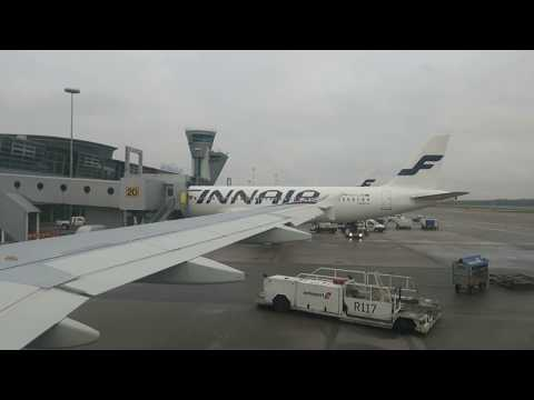 Finnair Flight Review: Helsinki to Amsterdam on AY841