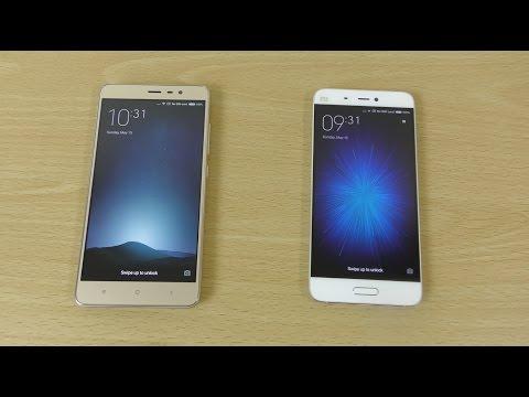 Xiaomi Redmi Note 3 Pro vs Mi5 - Speed, Camera & Battery Test!