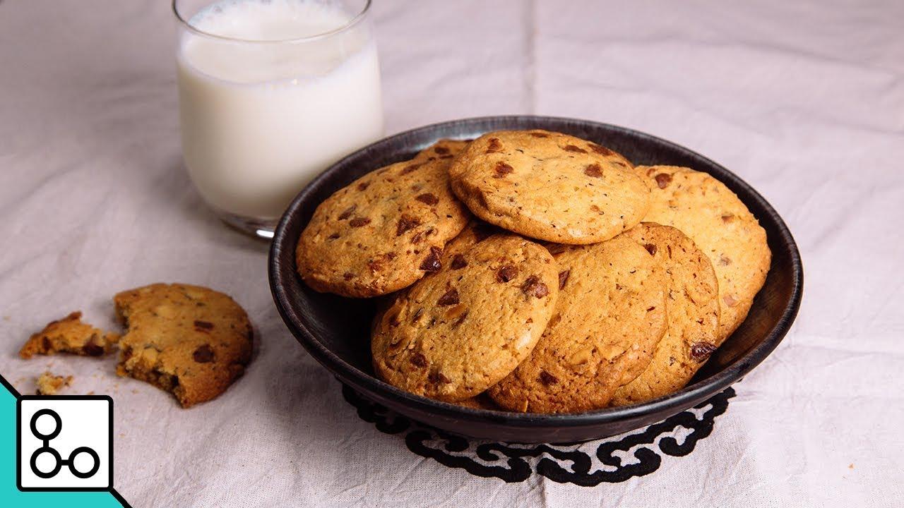 Cookies chocolat & noisettes - YouCook