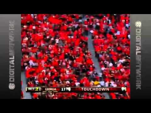 11/09/2013 App State vs Georgia Football Highlights