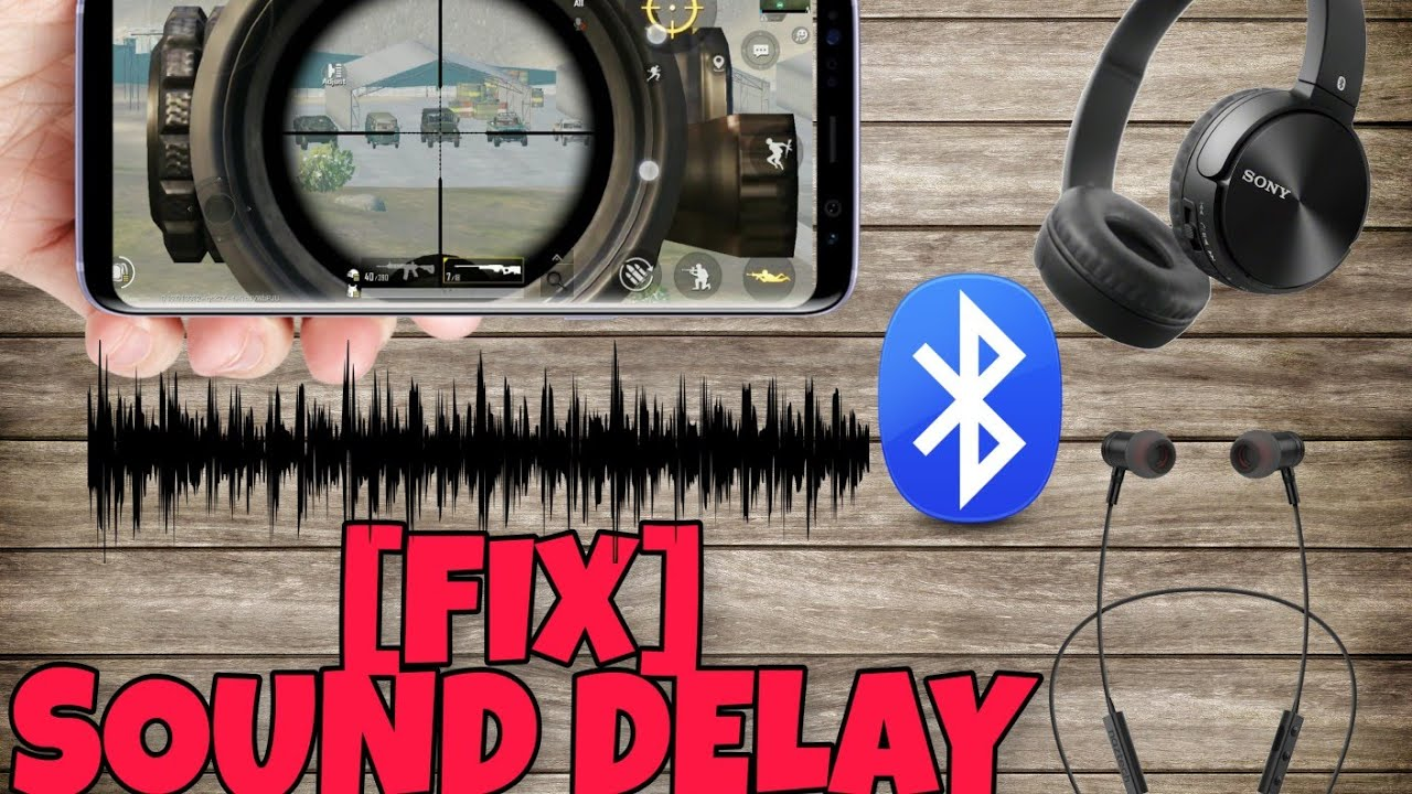 Download [FIX] PUBG mobile Bluetooth earphones sound delay PROBLEM Solved | Sound lag Fix (HINDI)