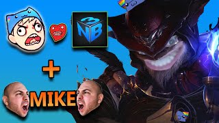 ZIGGS MID WITH NIGHTBLUE3 AND RAGING MIKE - League of Legends With Friends