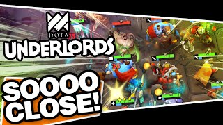 DOTA Underlords - CLOSEST GAME OF MY LIFE!