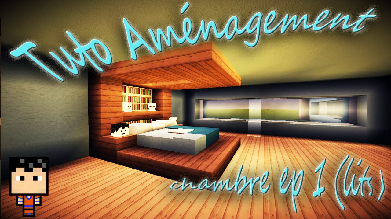 Minecraft Tuto Aménagement Chambre Episode N 1 Youtube - Décoration Chambre Youtube
