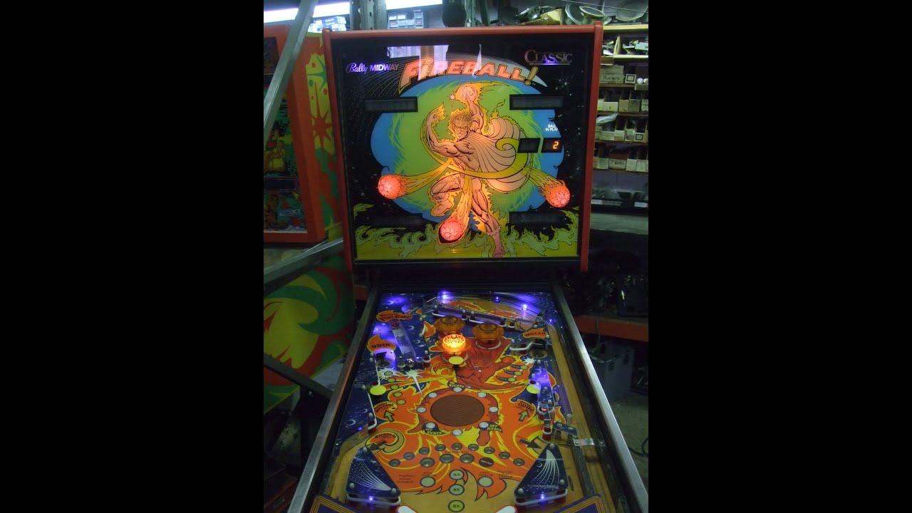 #294 Bally's FIREBALL CLASSIC Pinball Machine Restoration! TNT Amusement