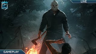 [Livestream Replay] Friday the 13th: The Game! | Sackhead! Trying to Kill Jason! | 1080p 60FPS!