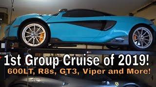 McLaren 600LT Cruise and Garage Update