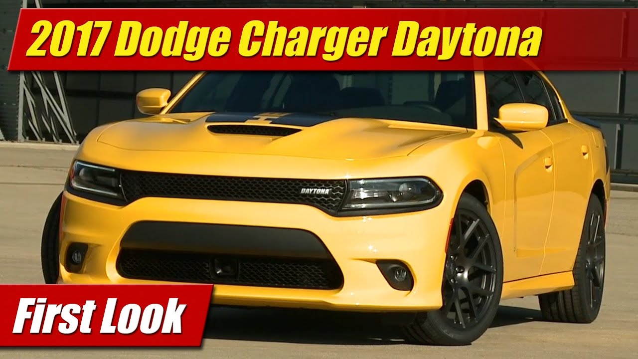 2017 Dodge Charger Daytona First Look