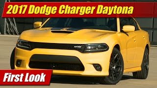 2017 Dodge Charger Daytona: First Look