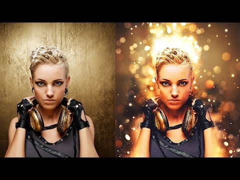 Shimmer Photoshop Action Tutorial