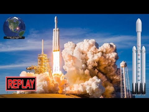 Launching Thursday: SpaceX Falcon Heavy 1st commercial launch carrying Arabsat 6A to geosynch orbit!