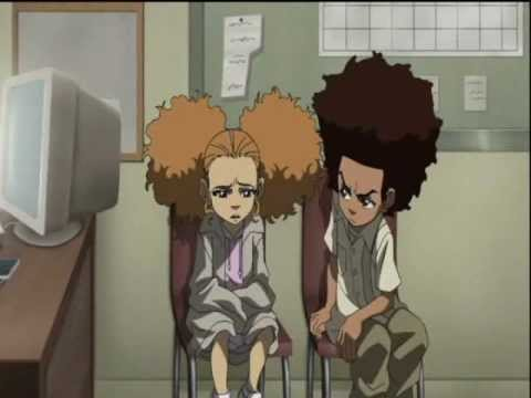 the boondocks kiss