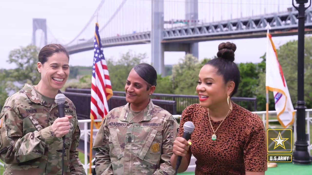 US Army MythBusters with Angela Yee & NYC's Recruiting Battalion: The Female Experience In The Army