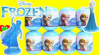Disney Frozen Deluxe Mini Figurines in Frozen Capsules