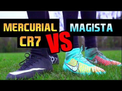 RONALDO CR7 Mercurials vs Nike Magista | Boot Test | F2Freestylers