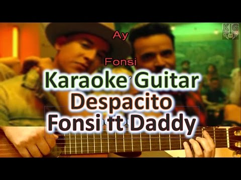 Despacito - Luis Fonsi ft Daddy Yankee (BAJA) - Karaoke Guitar