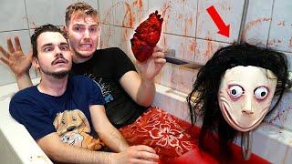 XOXO HERZ ZERSTÖREN UNTER WASSER mit BLUT BAD RITUAL!! *Maske schaut zu*