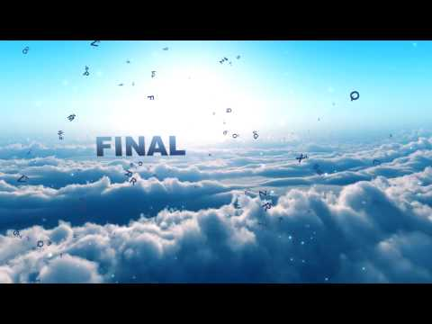 Dancing clouds  Intro - After effects template